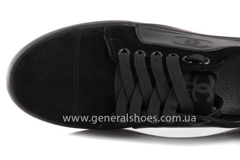 Кроссовки женские кожаные GL 140 черные фото 5