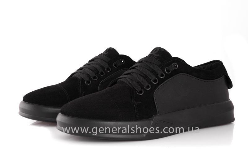 Кроссовки женские кожаные GL 140 черные фото 7