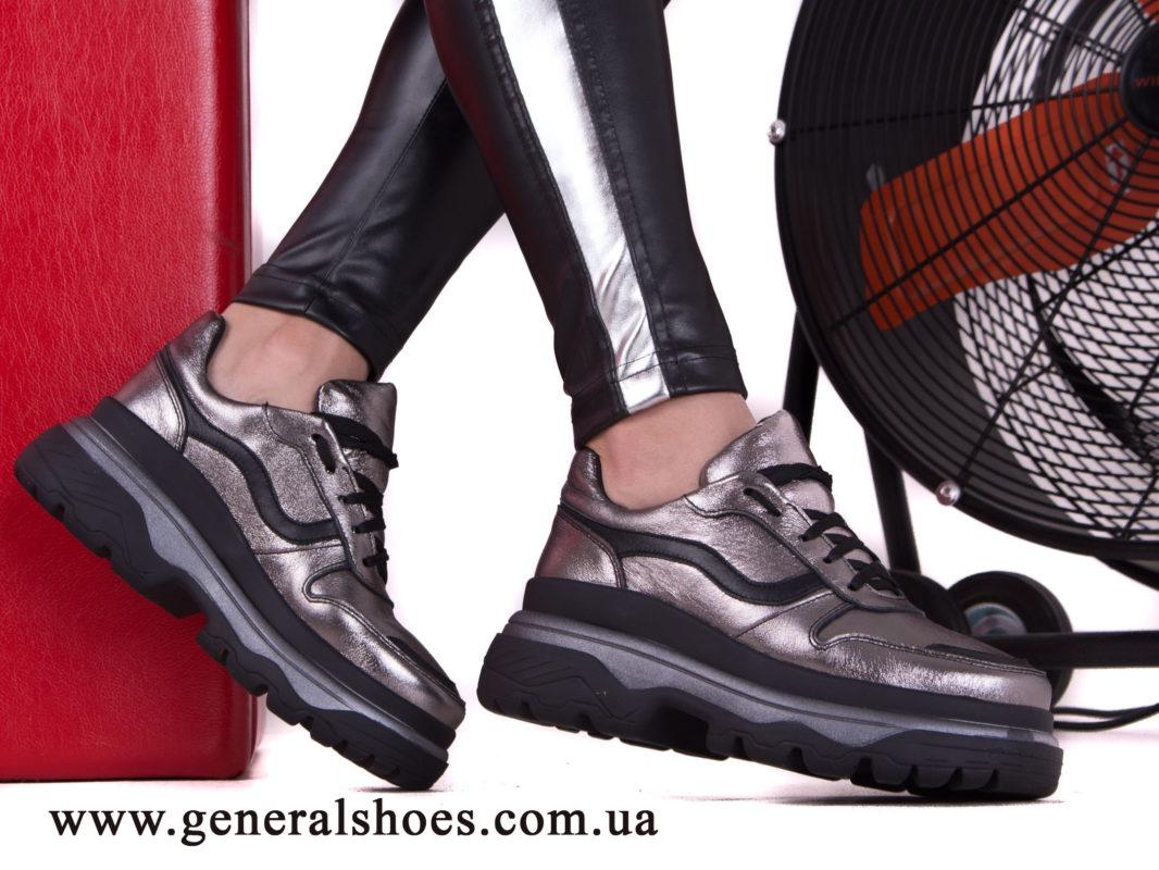 Кроссовки женские кожаные GL 240 бронза