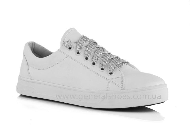 Кроссовки женские кеды GL 165 белые фото 1