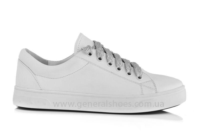 Кроссовки женские кеды GL 165 белые фото 2