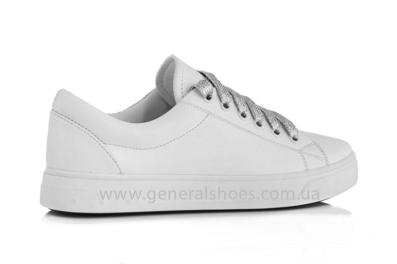 Кроссовки женские кеды GL 165 белые фото 3
