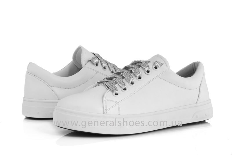 Кроссовки женские кеды GL 165 белые фото 4