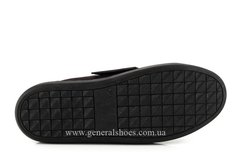 Кроссовки женские кожаные 5012 бордо фото 7
