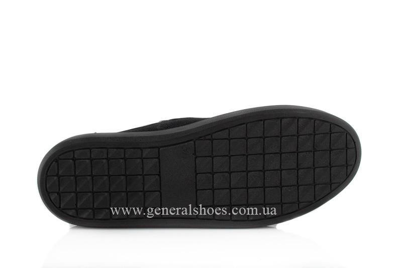 Кроссовки женские кожаные 5020 черные фото 7