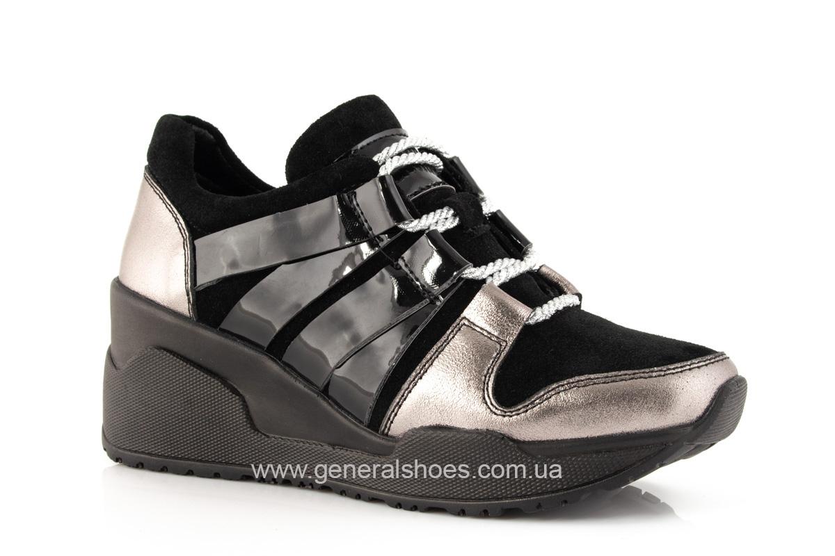 Женские кроссовки C3 кожаные фото 1