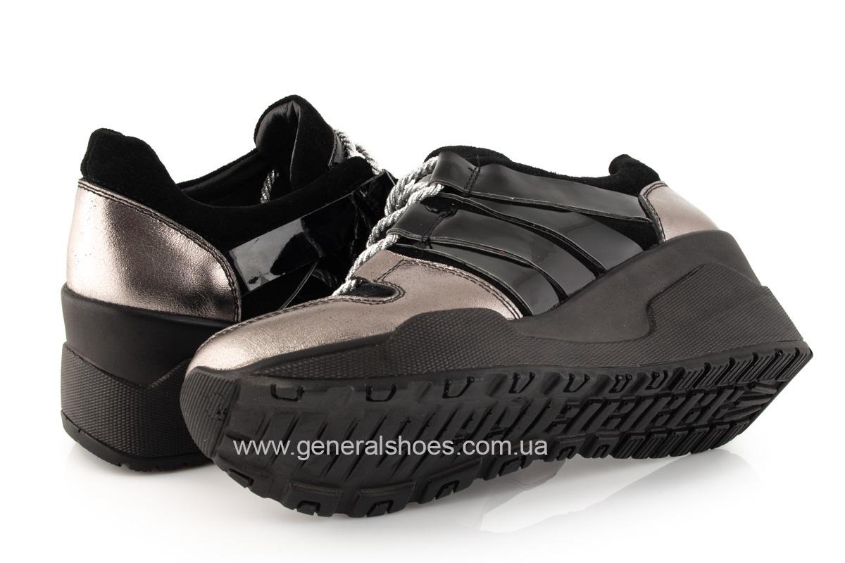 Женские кроссовки C3 кожаные фото 10