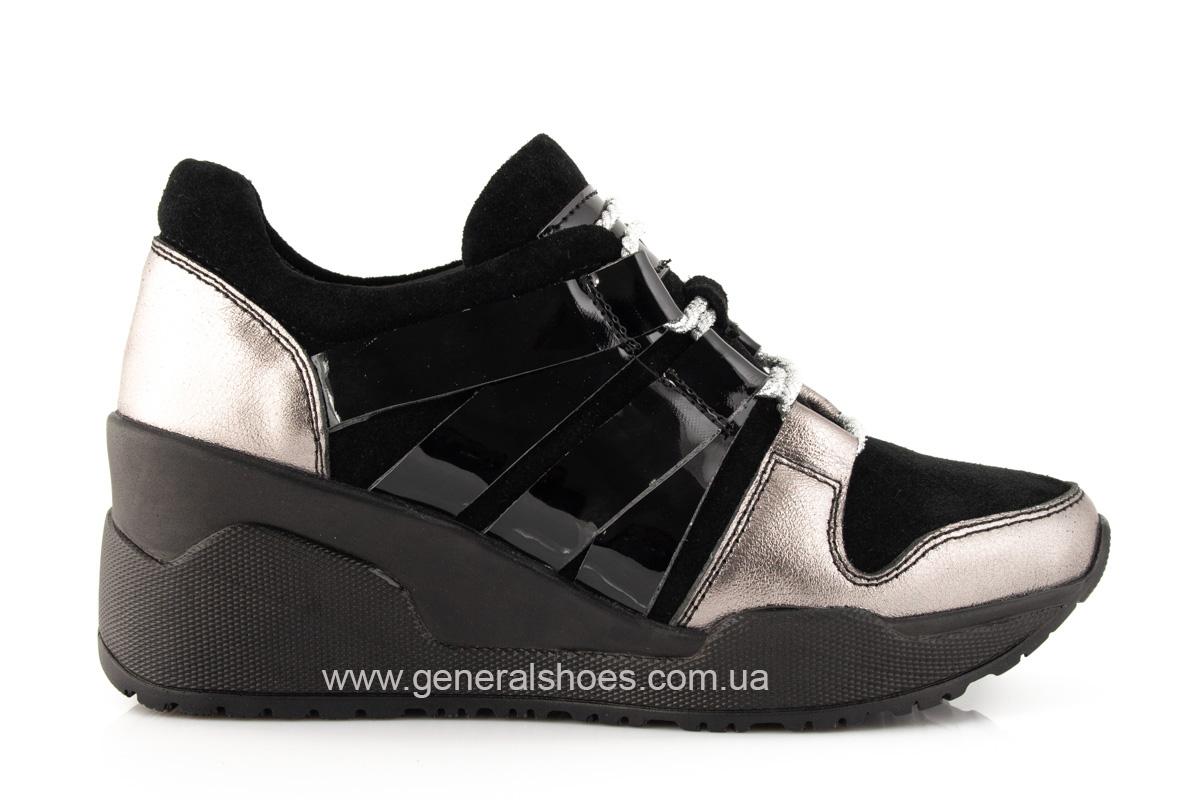 Женские кроссовки C3 кожаные фото 2