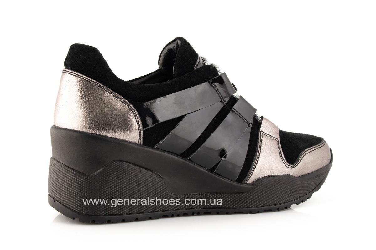 Женские кроссовки C3 кожаные фото 3