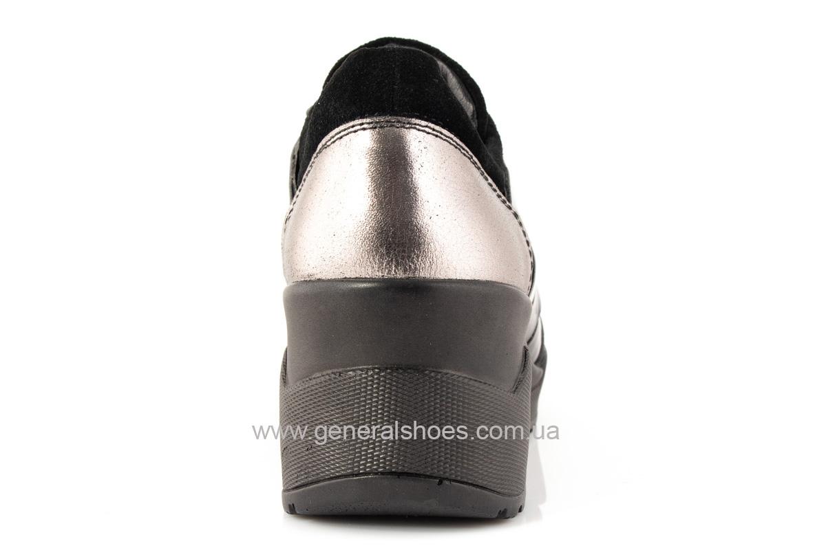 Женские кроссовки C3 кожаные фото 4
