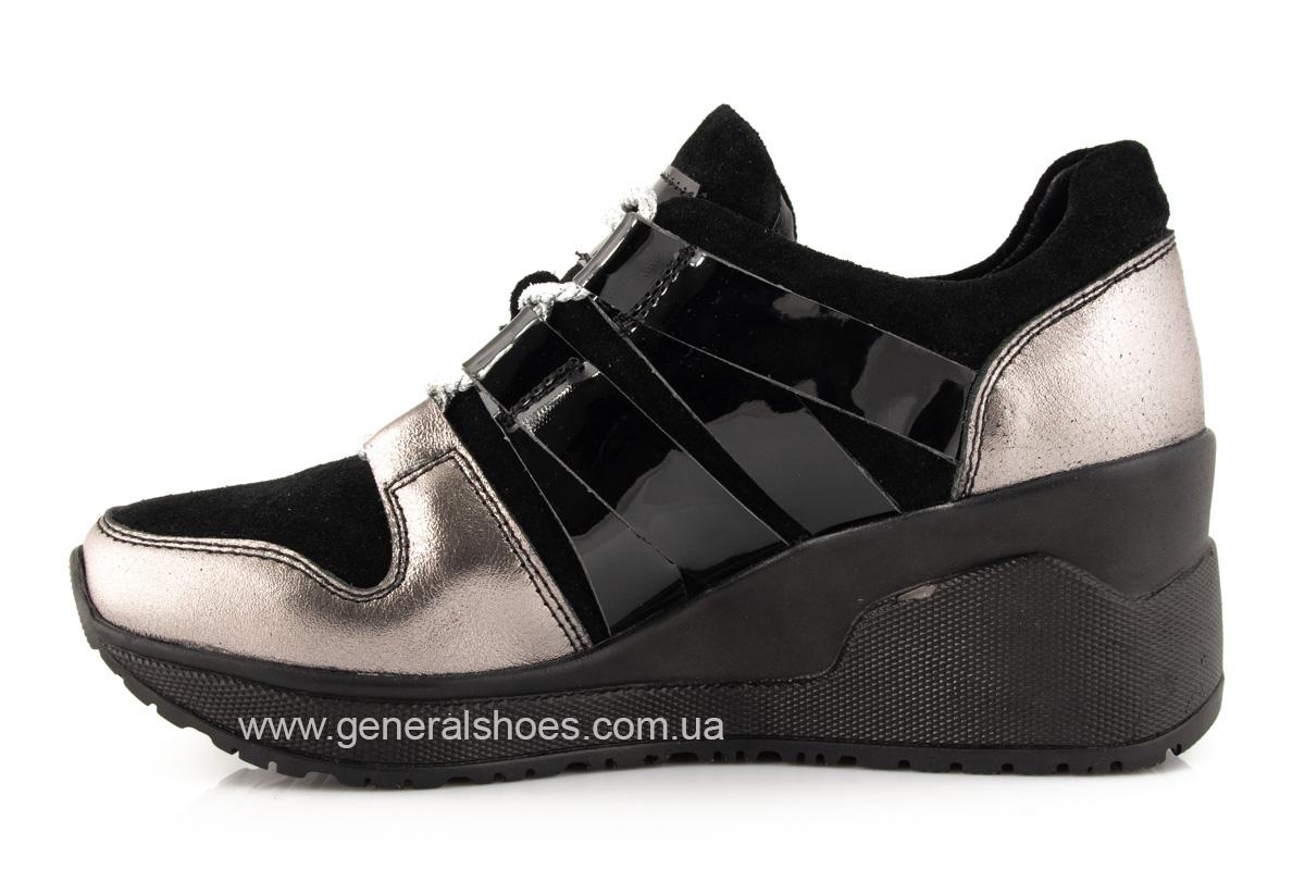 Женские кроссовки C3 кожаные фото 5