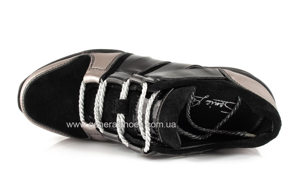 Женские кроссовки C3 кожаные фото 6