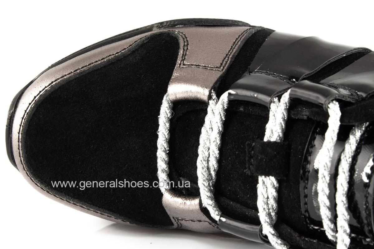 Женские кроссовки C3 кожаные фото 7