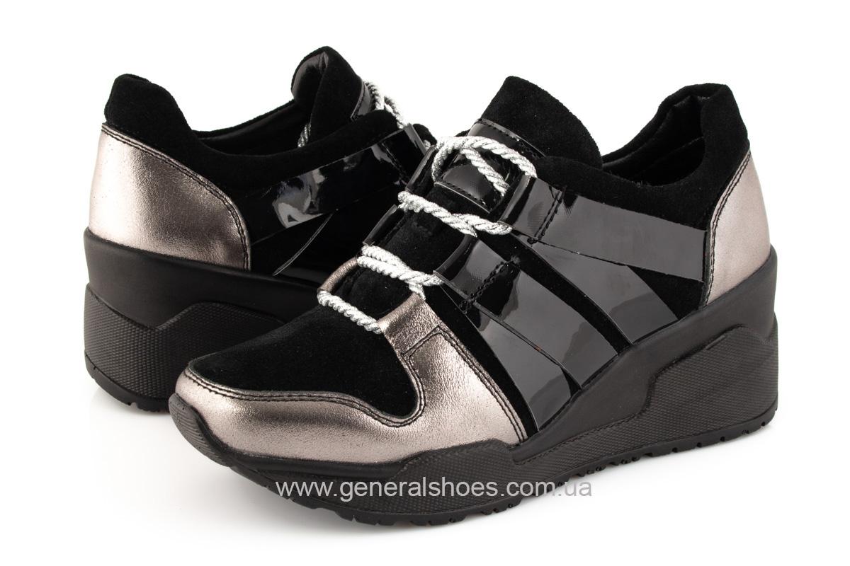 Женские кроссовки C3 кожаные фото 9
