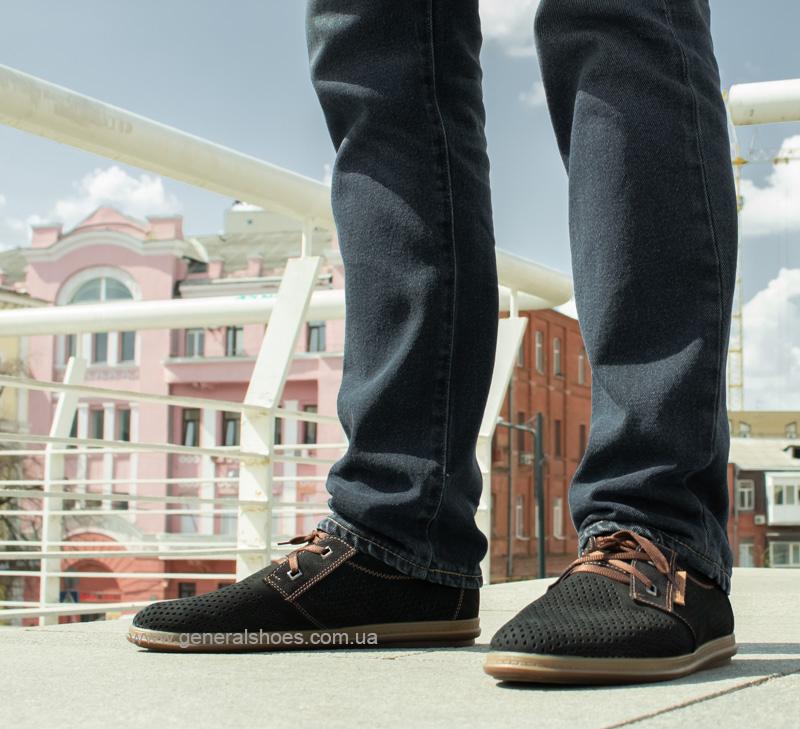 Мужские летние туфли Freddo PF черные