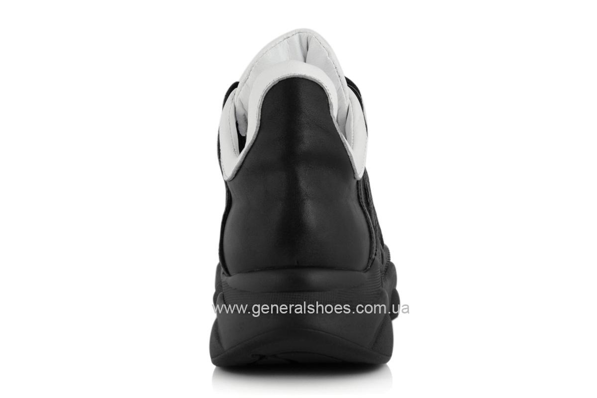 Кроссовки кожаные женские F 705 фото 4