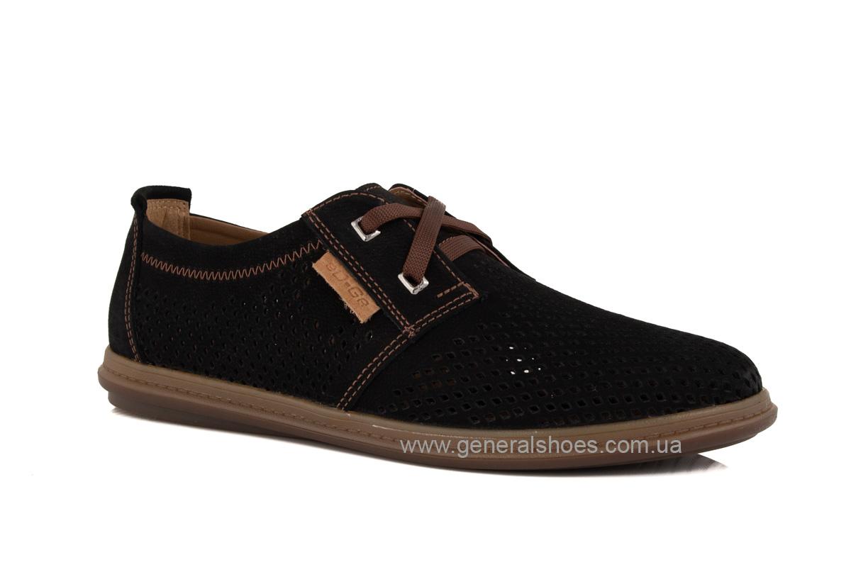 Мужские летние туфли Freddo PF черные фото 1