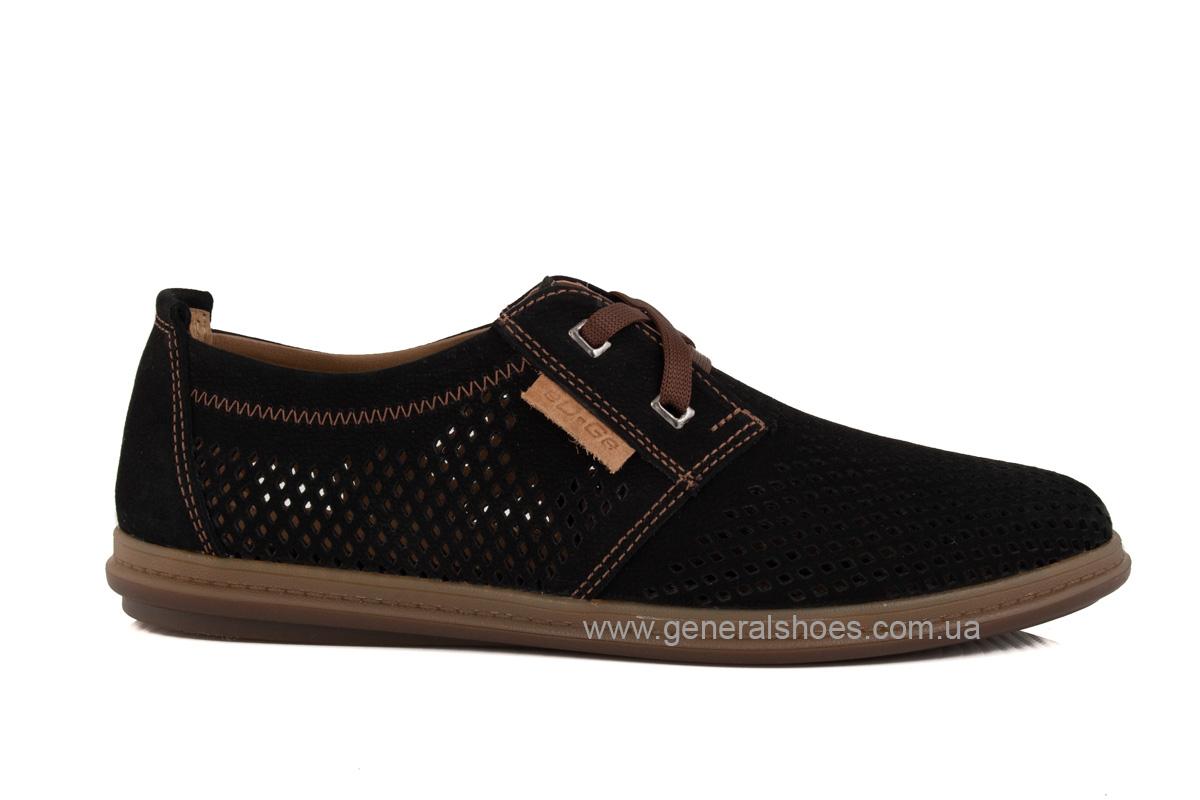 Мужские летние туфли Freddo PF черныес фото 2
