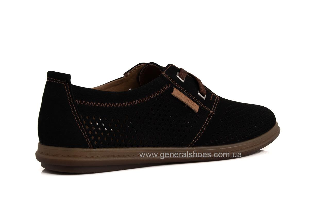 Мужские летние туфли Freddo PF черные фото 3