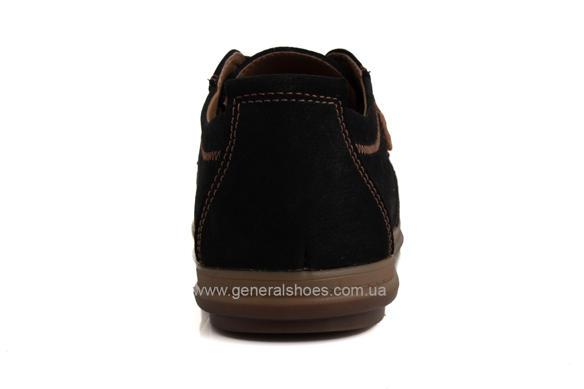 Мужские летние туфли Freddo PF черные фото 4