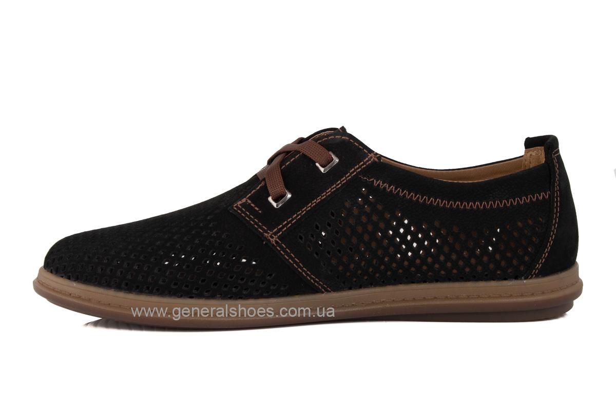 Мужские летние туфли Freddo PF черные фото 5