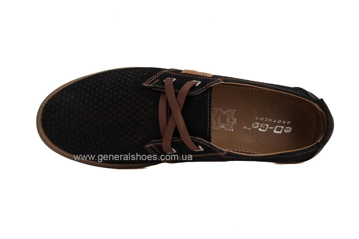 Мужские летние туфли Freddo PF черные фото 6