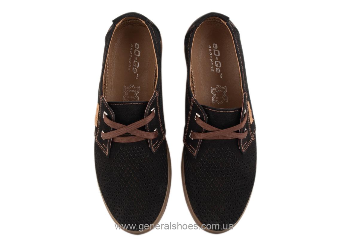 Мужские летние туфли Freddo PF черные фото 7