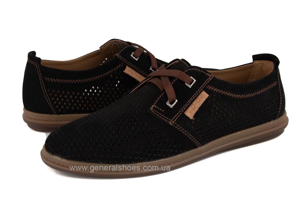 Мужские летние туфли Freddo PF черные фото 9