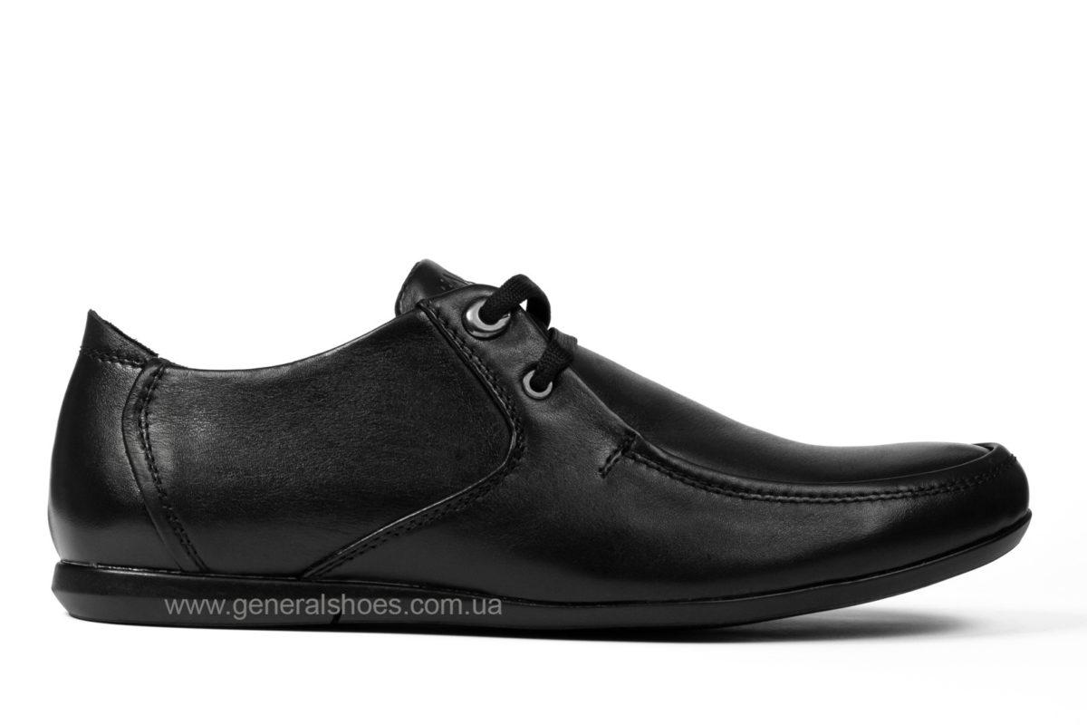Мужские кожаные мокасины Falcon 3415 черные