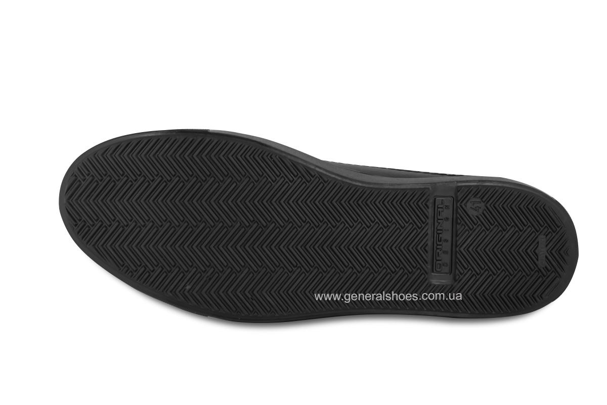 Повседневные кожаные туфли Falcon 244 черные фото 10