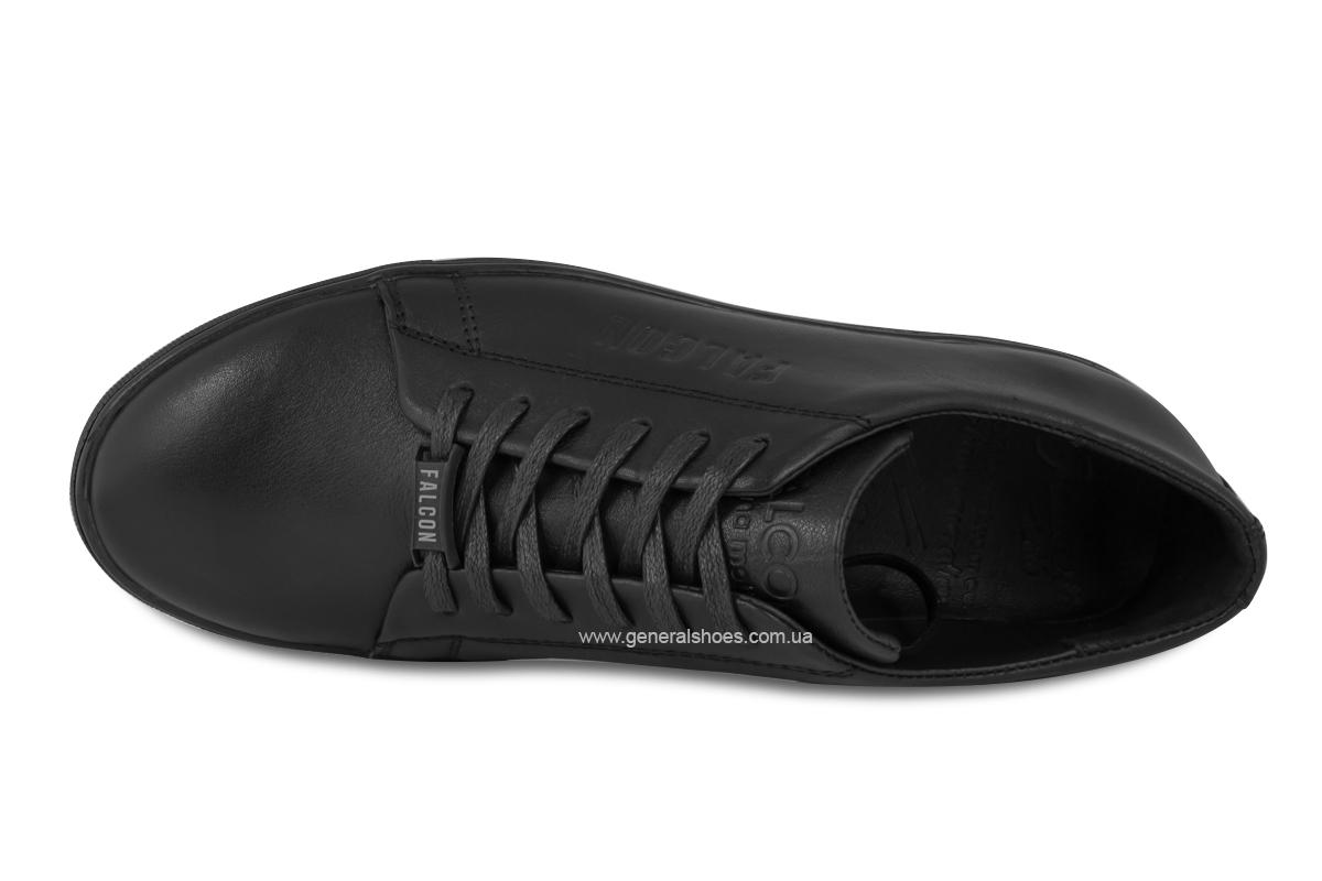 Повседневные кожаные туфли Falcon 244 черные фото 9