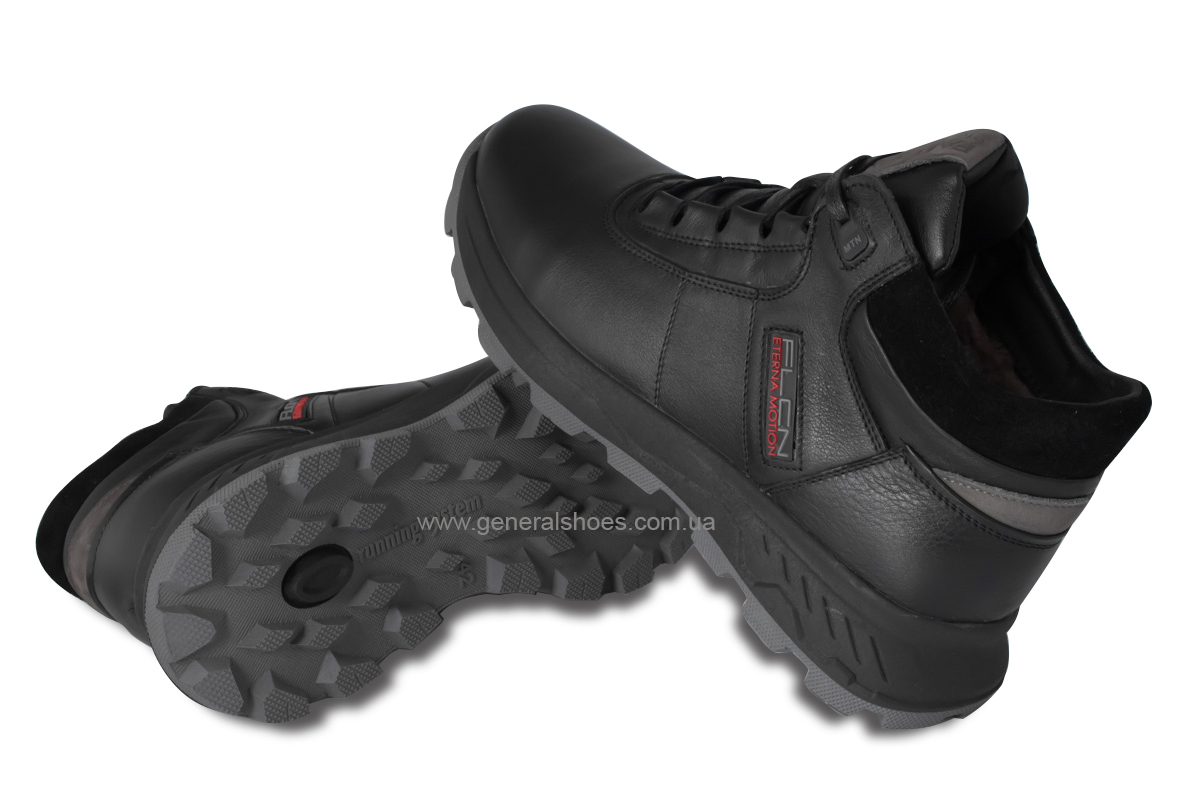 Мужские кожаные ботинки Falcon 1020 натуральный мех фото 2