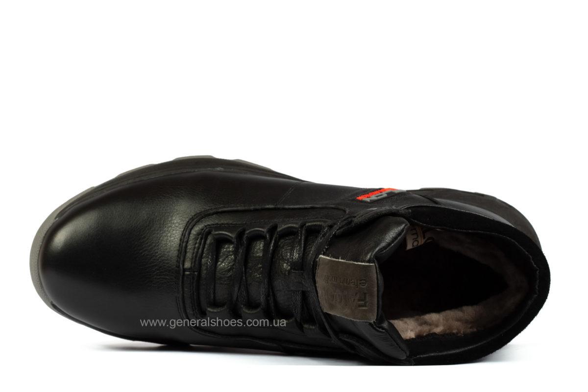 Мужские кожаные ботинки Falcon 1020 натуральный мех фото 3