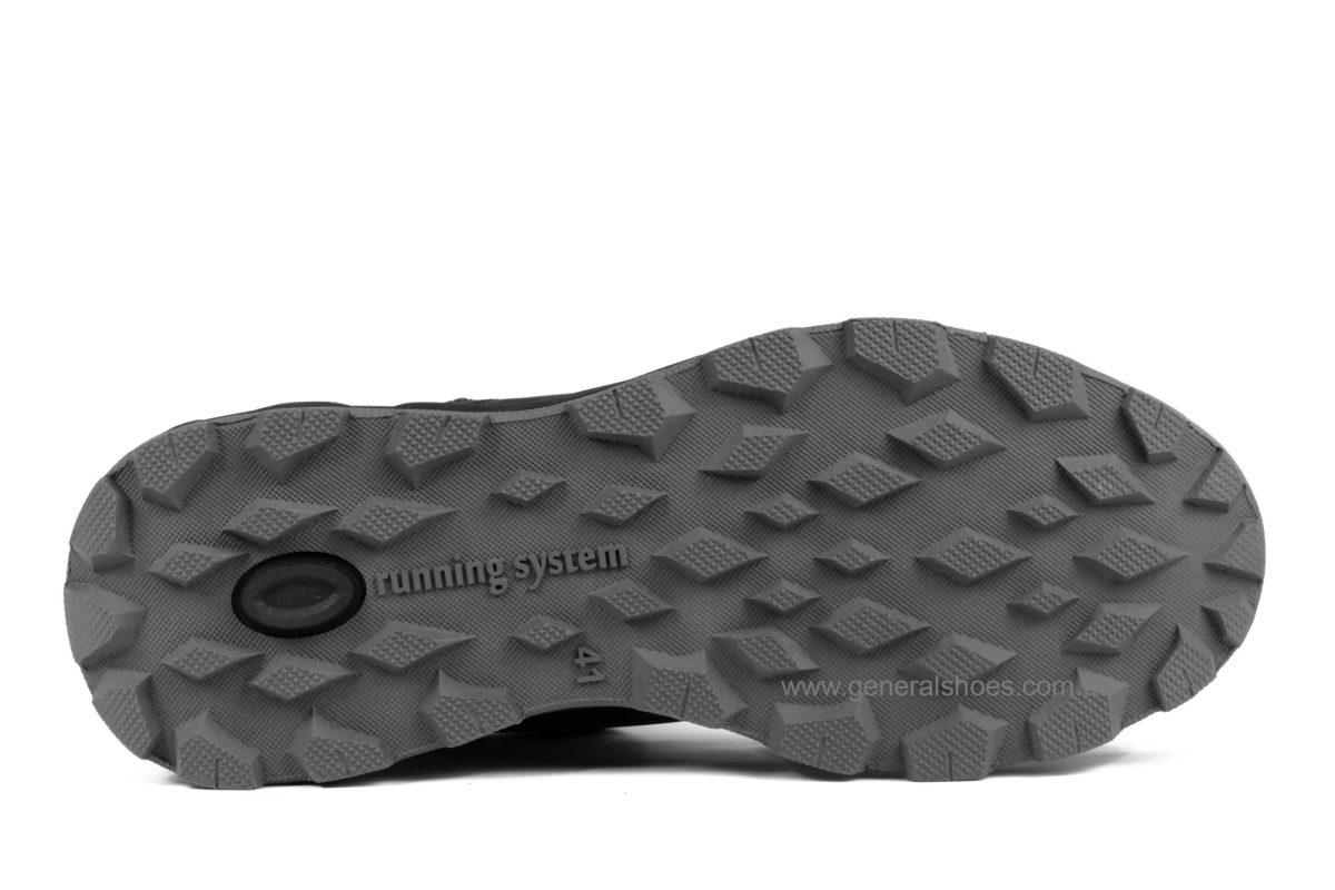 Мужские кожаные ботинки Falcon 1020 натуральный мех фото 5