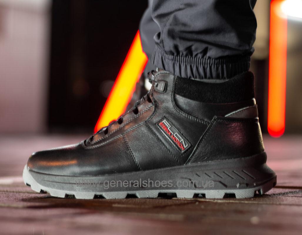 Мужские кожаные ботинки Falcon 1020 натуральный мех