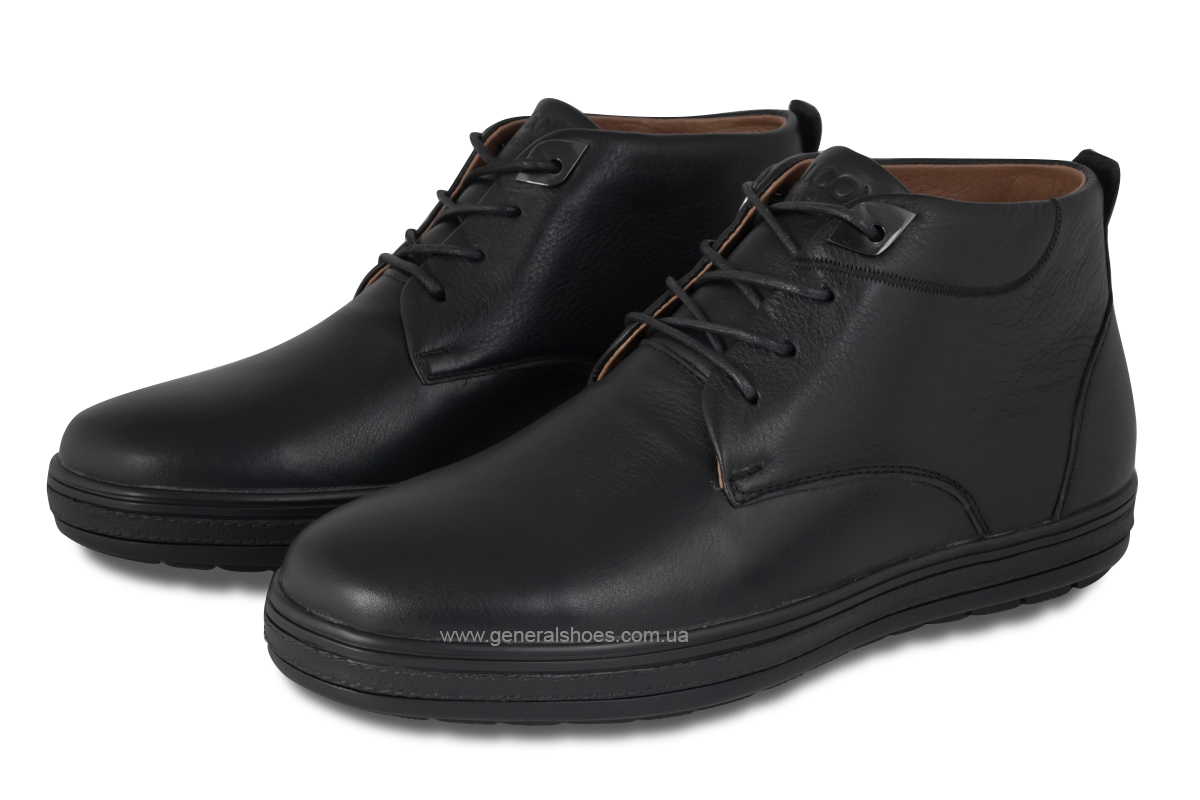 Мужские кожаные ботинки Falcon 6020 натуральный мех фото 1
