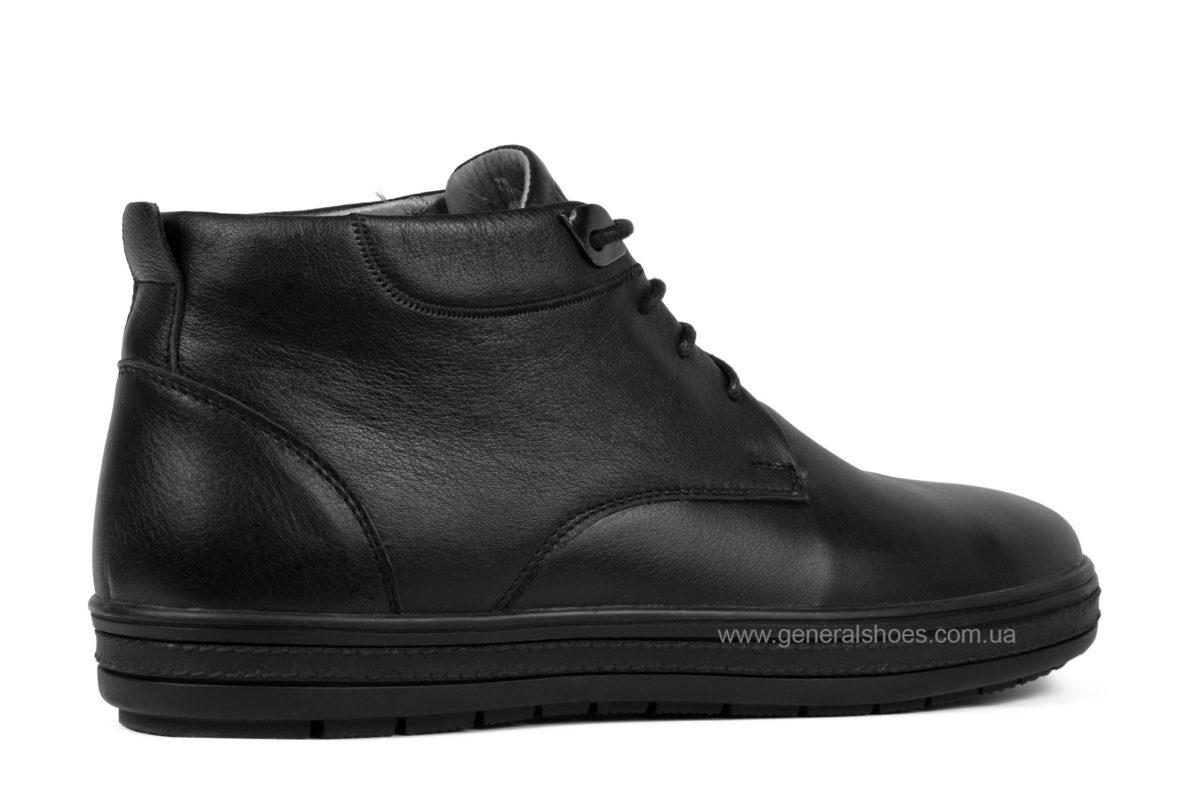 Мужские кожаные ботинки Falcon 6020 натуральный мех фото 2