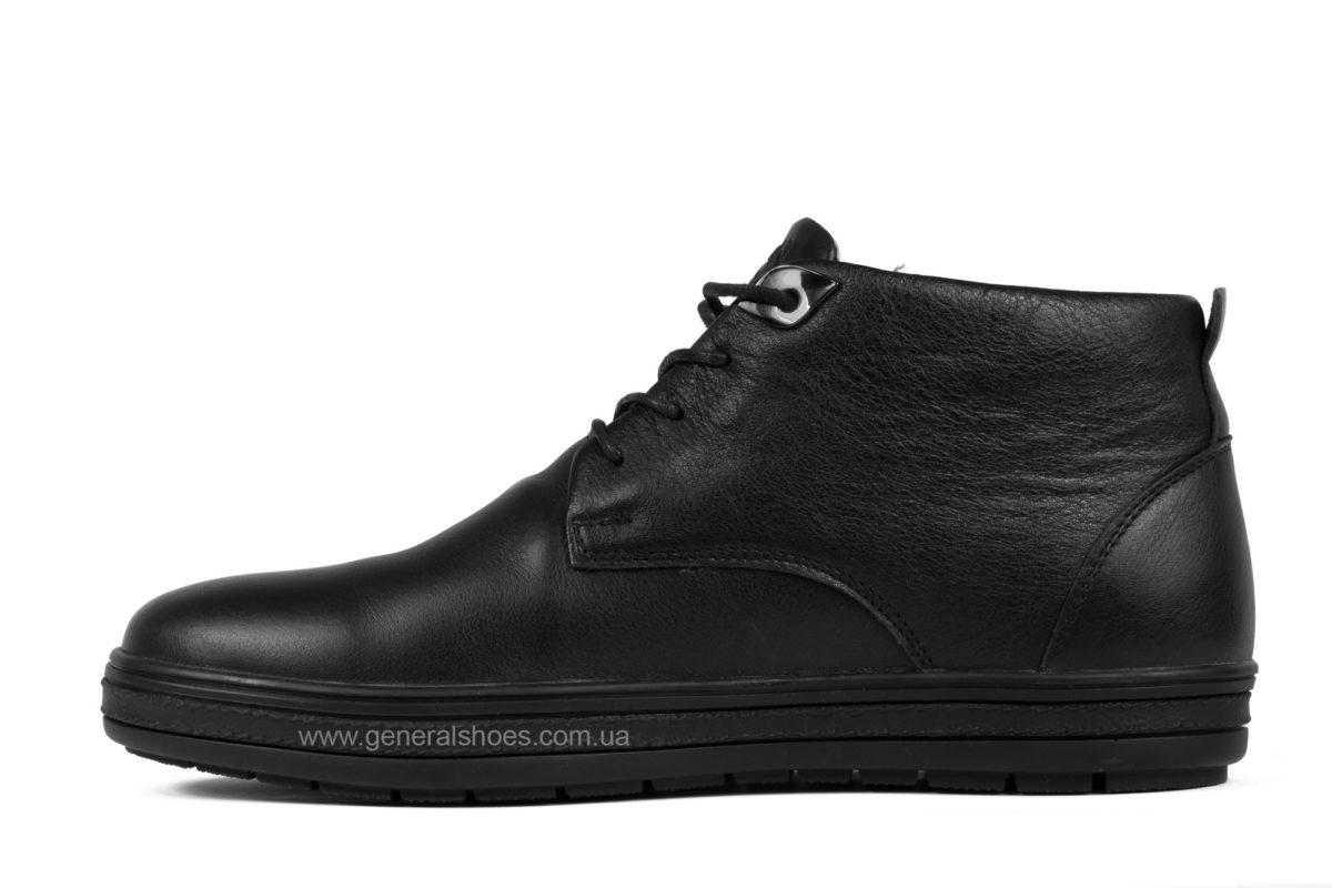 Мужские кожаные ботинки Falcon 6020 натуральный мех фото 3