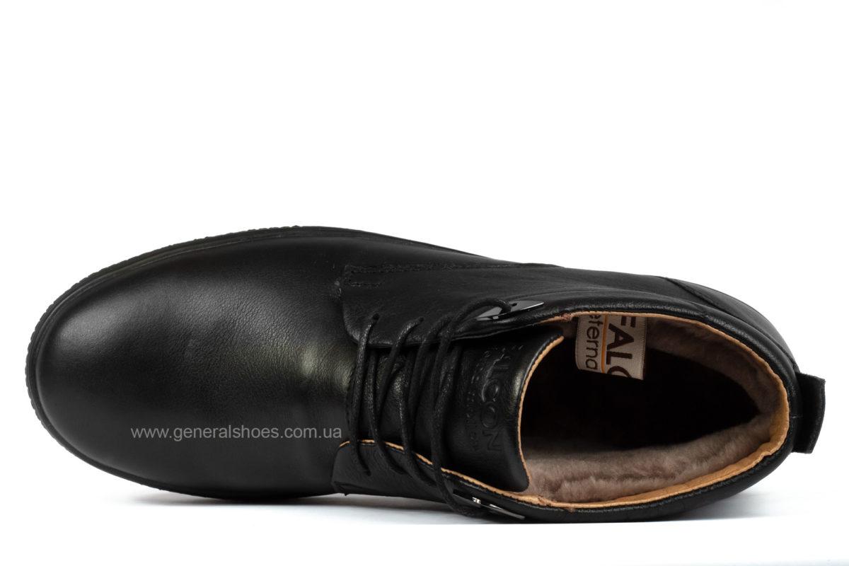 Мужские кожаные ботинки Falcon 6020 натуральный мех фото 4
