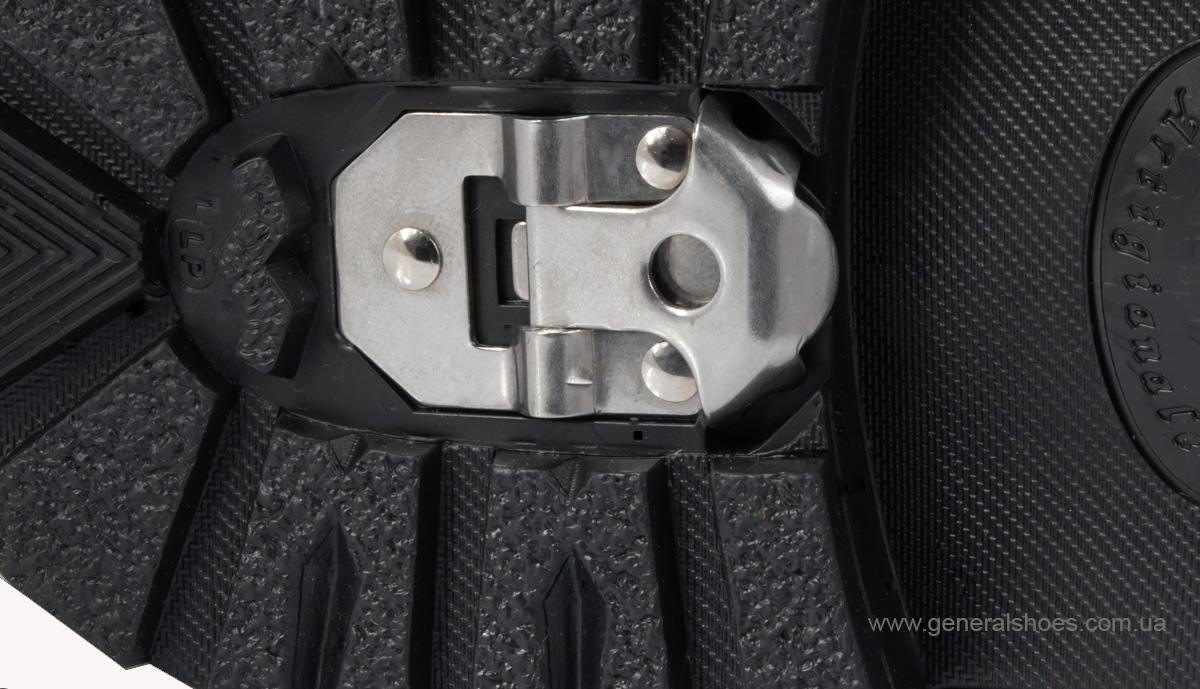 Мужские кожаные ботинки Falcon 7015 черные антискольжение фото 11