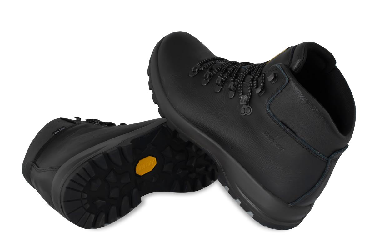 Мужские кожаные ботинки Grisport 10073o83tn Vibram Италия фото 3