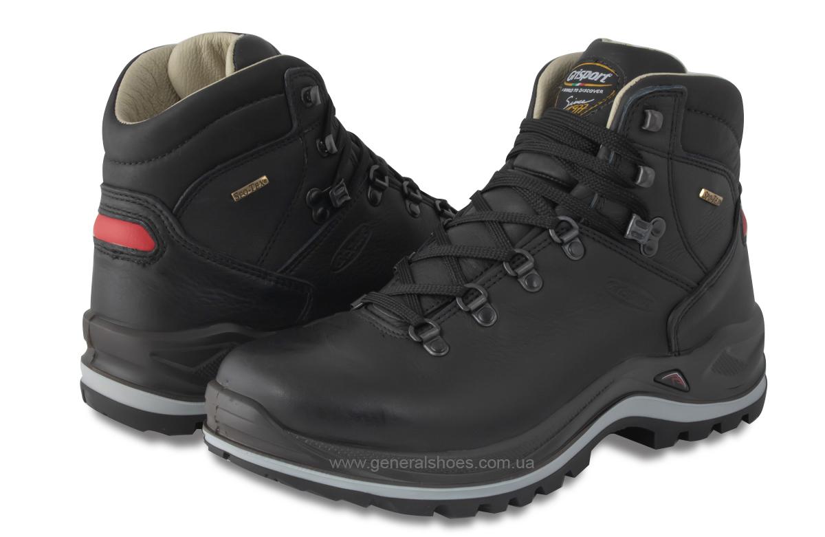 Мужские кожаные ботинки Grisport 13701o39tn Spo-Tex Vibram Италия фото 3