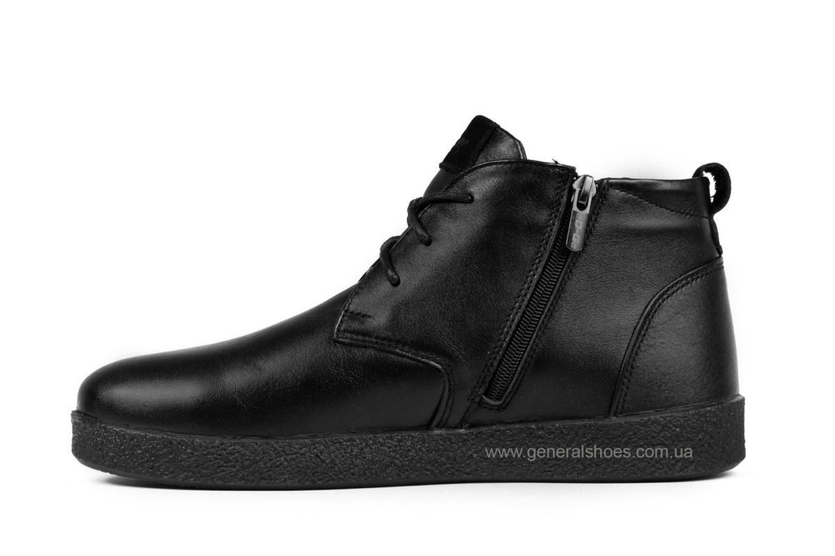Мужские зимние ботинки Koss кожаные фото 3