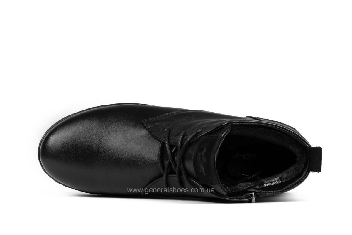 Мужские зимние ботинки Koss кожаные фото 4