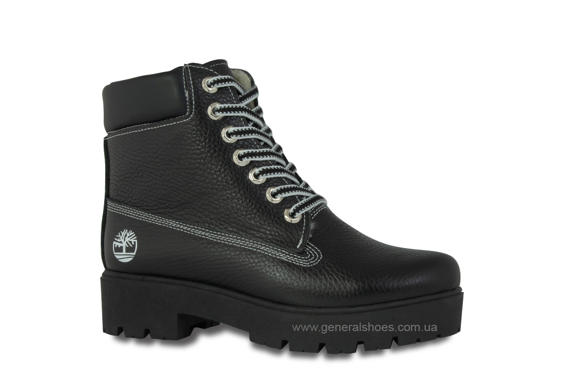 Зимние женские ботинки черные GL 07 фото 3