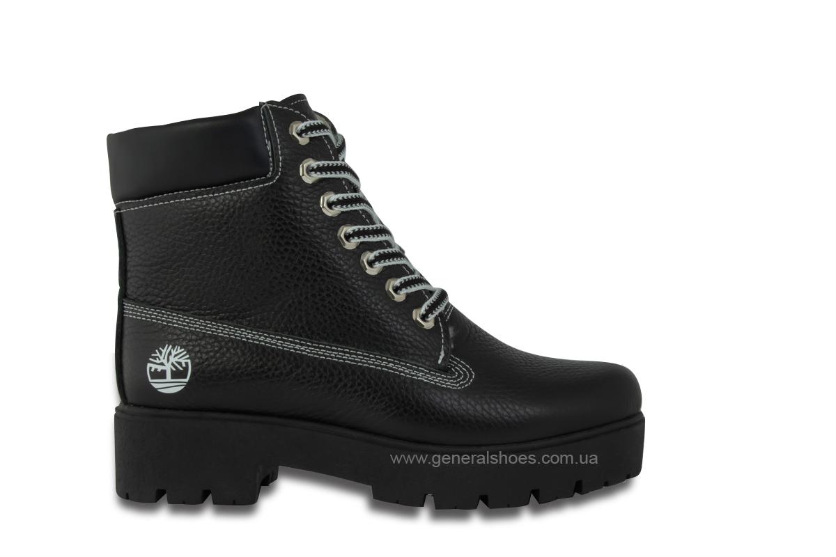 Зимние женские ботинки черные GL 07 фото 4