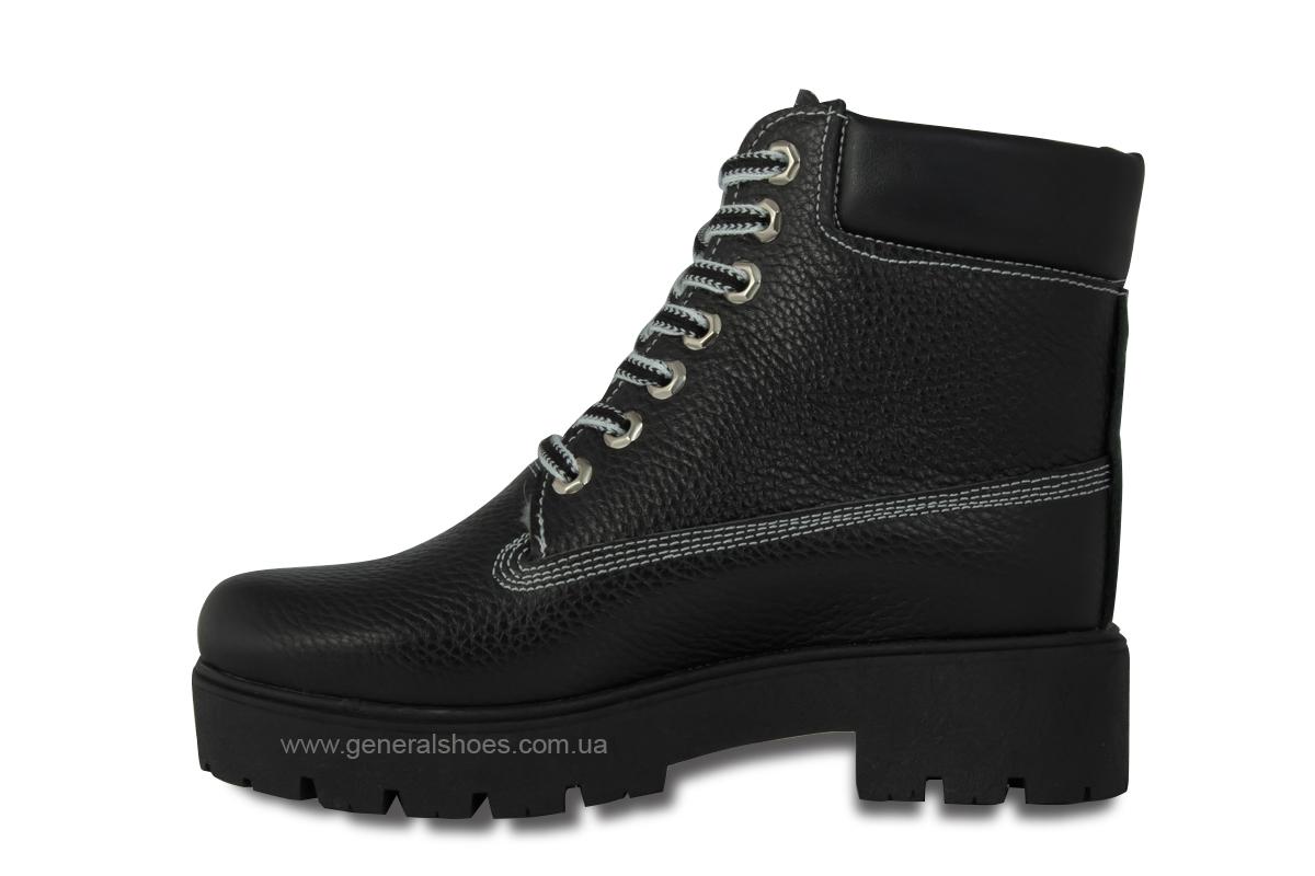 Зимние женские ботинки черные GL 07 фото 7