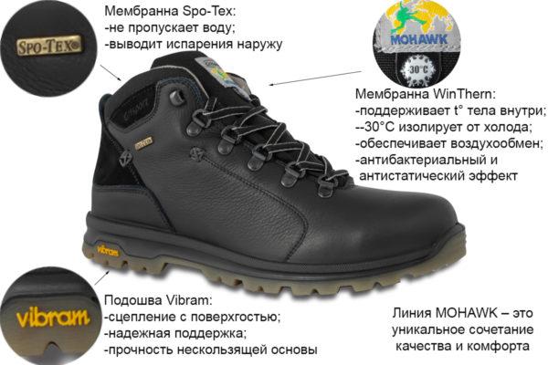 Мужские ботинки Гриспорт -30°С