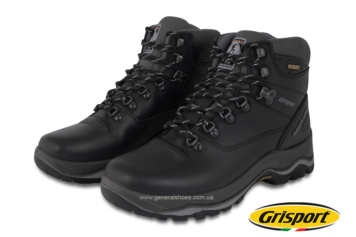 Мужские кожаные ботинки Grisport 11205D144n Vibram Италия фото 1