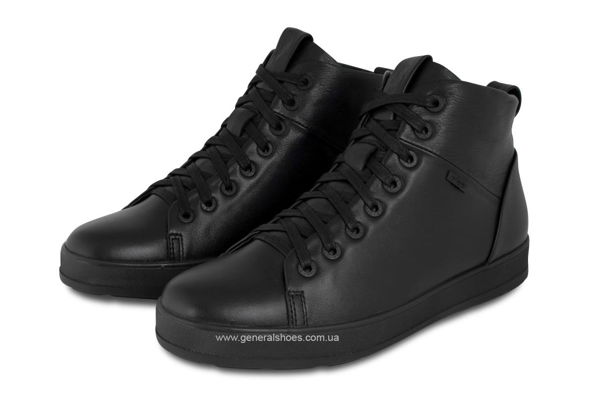 Мужские зимние кожаные ботинки Ed-Ge 551 фото 1